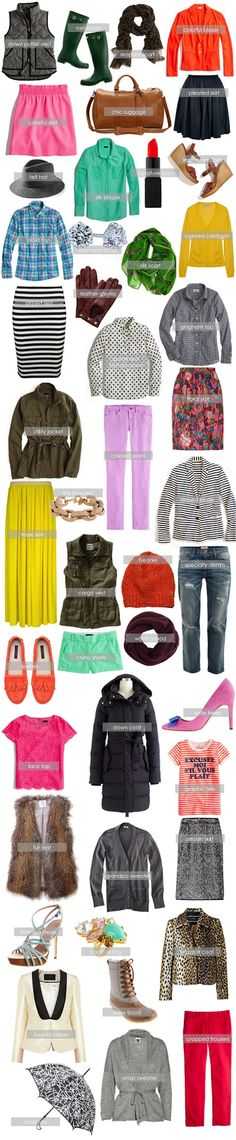 Here & Now: Curated Closet | Wardrobe Completers