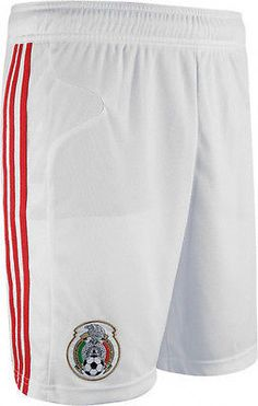 ADIDAS MEXICO GAME HOME SHORT FIFA WORLD CUP 2010 White/Red.