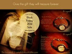 Black Friday Sale 2014 - Inspirational Jewelry... bracelets and leather cuffs  #blackfriday #blackfriday2014