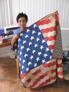 """Crafting to honor military veterans, local quilt named Top 3 in U.S. 