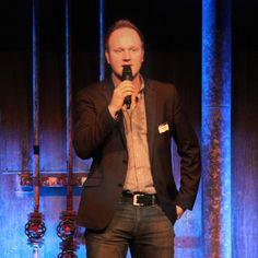 Jubiläumsfeier TechDivision, Moderation Dominik Haller