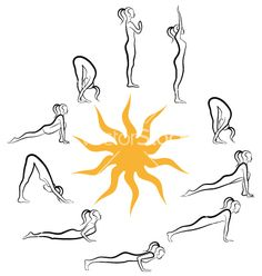 Sun Salutations for Fixing Bad Posture - http://www.yogadivinity.com/sun-salutations-for-fixing-bad-posture