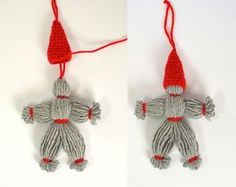 Here are 16 awesome ideas for diy Christmas decorations. Scandinavian Christmas Ornaments, Nordic Christmas, Christmas Knitting, Christmas Wreaths, Christmas Crafts, Christmas Decorations, Origami 8 Pointed Star, Yarn Dolls, Christmas Wrapping