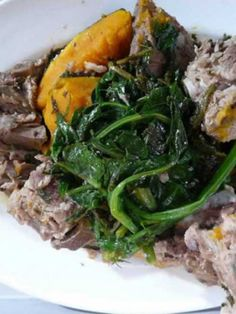 The Pot - Pork and Puha with Steamed Vegetables