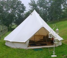 Bell Tent Hire - Country Glamping Holidays