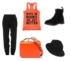 """""""Untitled #220"""" by deedee-07-love on Polyvore featuring Dr. Martens, ATM by Anthony Thomas Melillo, Marni and RED Valentino"""