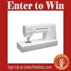 Facebook Twitter PinterestHere is an offer where you can enter to win the 2017 National Quilting Month Sweepstakes. PRIZES – (1) Grand Prize – Baby Lock Jazz Sewing Machine signed by Jenny Doan MSRP $1,299.99 Riley Blake fabric bundle valued at $200 Missouri Star Quilt Company products valued at $200 Fons and Porter products valuedView Deal