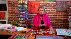Stupendous Stitching: Adventures in Surface Design with Carol Ann Waugh . Free Motion Quilting, Quilting Tips, Quilting Tutorials, Machine Quilting, Quilting Projects, Sewing Tutorials, Machine Embroidery, How To Dye Fabric, Dyeing Fabric