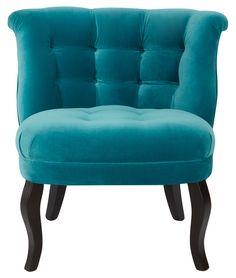 Buy Velvet Tub Chair from Oliver Bonas