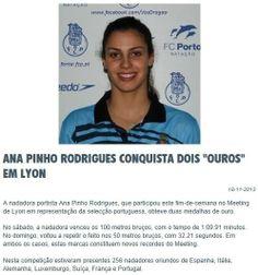 FC Porto: Natação Fc Porto, Hanging Medals, 100m