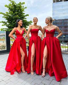 Wedding Wishes, Wedding Bells, Only Fashion, Fashion Show, Fashion Beauty, Fashion Fashion, Bridesmaid Dresses, Wedding Dresses, Red Bridesmaids
