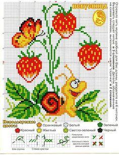 ENCANTOS EM PONTO CRUZ: Frutas