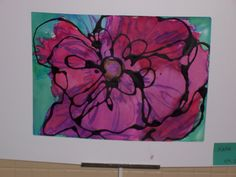 Brightest Crayon in the Blog: Georgia O'Keeffe Inspired Watercolor Paintings - 4th Grade