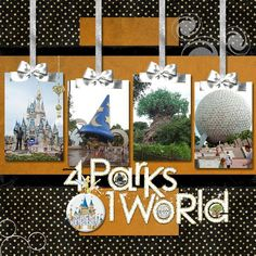 WDW- 4 parks 1 world - Page 4 - MouseScrappers.com