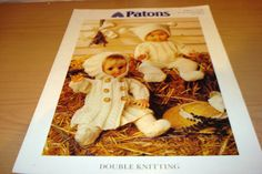 1 of 1: Patons 5179 - Dolls Clothes Knitting Pattern - Size 12-22inches (30-56cm) (DK)