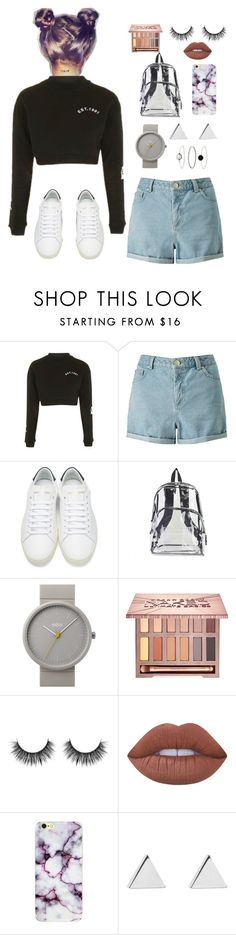 """""""Untitled #13"""" by sana-s0 on Polyvore featuring Topshop, Miss Selfridge, Yves Saint Laurent, International, Braun, Urban Decay, Lime Crime, Jennifer Meyer Jewelry and Accessorize"""
