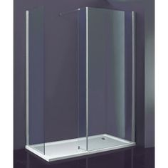 Indi 1500mm Walk In Shower Enclosure & Tray