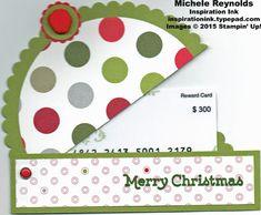 Versatile christmas beanie cap gift card holder watermark