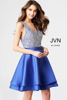 2c1f38eb744 JVN by Jovani Homecoming JVN54740 Chic Boutique  Largest Selection of Prom
