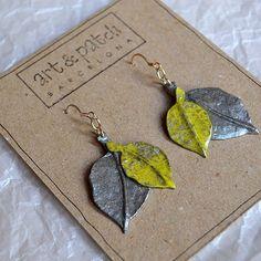 Otoño... #pendientes #hojas #otoño #handmade #fetama #barcelonainspira #barcelona #disseny #diseñodeautor #regalosoriginales #tardor #autumn