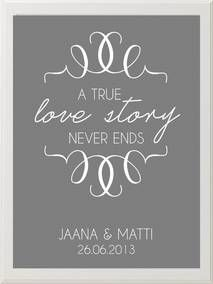 A true love story, wedding