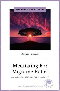 Scientific Proof that Meditating Reduces Migraine Frequency and Severity Migraine Triggers, Migraine Pain, Chronic Migraines, Migraine Relief, Pain Relief, Migraine Pressure Points, Migraine Doctor, Migraine Piercing, Migraine Attack