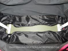 dance bag bottom