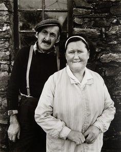 Mr and Mrs Mylroi, Church Farm, Cregneash (Isle of Man Portfolio) 1973