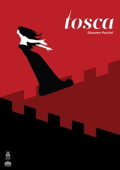 #Tosca #Opera #Poster #Albania