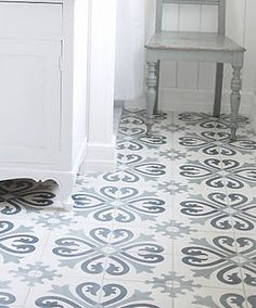 Tiles for Baths Hygee Home, Basement Guest Rooms, European Style Homes, Victorian Tiles, Brick Tiles, House Tiles, Painted Floors, Concrete Countertops, Inspiration Wall