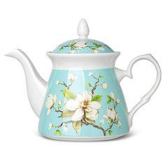 Ashdene - Magnolia Blue Teapot | Peter's of Kensington