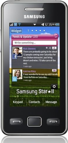 Samsung SA-S5260BKSP Cellphone - Unlocked Phone - US Warranty - Black - For Sale