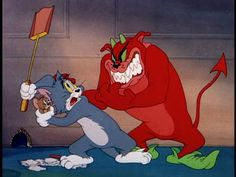Tom And Jerry Cartoon - Tom And Jerry Full Episodes 2015 Best Cartoons Ever, Old Cartoons, Classic Cartoons, Animated Cartoons, Tom Y Jerry, Tom And Jerry Cartoon, Cartoon Shows, Cartoon Characters, Cartoon Lion
