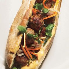 Vietnamese hybrid sandwiches called banh mi are great for lunch or a casual dinner.