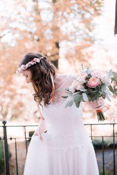 We Are Flowergirls- Flowercrown- Weddingcrown_ Headpiece-Accessoire-Handmade-Hairaccessoire- Headband Girls Dresses, Flower Girl Dresses, Party Party, Wedding Dresses, Headpiece, Flowers, Handmade, Fashion, Accessories