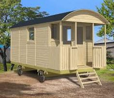 Shepherd hut and gypsy caravan from Tuin, a substantial and impressive garden building