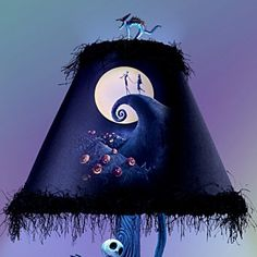 The Nightmare Before Christmas Moonlight Table Lamp - Shade