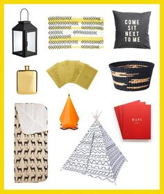 3 Ways to Decorate Your Tent for the Ultimate Glamping Experience via Brit + Co