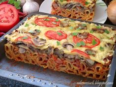 Lasagna, Quiche, Vegetables, Cooking, Breakfast, Ethnic Recipes, Food, Dish, Kitchen