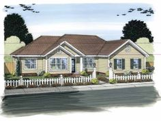 Eplans Traditional House Plan - Open Concept Floor Plan - 1631 Square Feet and 3 Bedrooms from Eplans - House Plan Code HWEPL75428