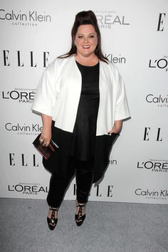 8 Hints About What's In Melissa McCarthy's New Plus-Size Collection #refinery29  http://www.refinery29.com/2014/06/69231/melissa-mccarthy-plus-size-line#slide6  We're loving this dress-over-pants thing McCarthy's been doing.