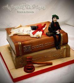 grad cake idea