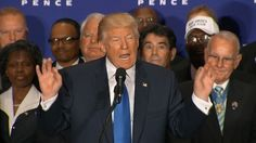 Republican presidential nominee Donald Trump says President Obama was indeed born in the United States, one day after refusing to say so during an interview and after several years of leading the movement questioning Obama's place of birth. (Restricted pool) A few hours after Donald Trump's ann...