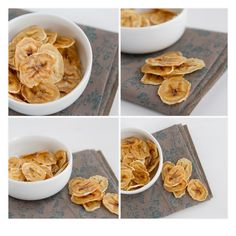 Baked Banana Chips- easy to make & delicious to eat.