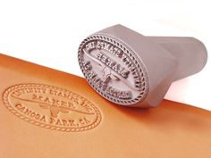 Custom Leather Stamps    http://www.infinitystamps.com/oscommerce/product_info.php?products_id=71
