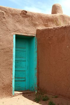 Doors ON ADOBE HOUSES | Primitive Culture: 2/1/08 - 3/1/08