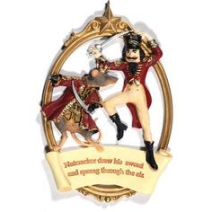 The Nutcracker and Mouse King Ornament.