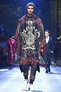 Male Fashion Trends: Dolce & Gabbana Fall-Winter 2017 - Milan Fashion Week