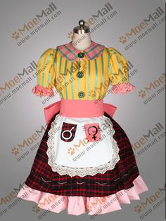 Alice Madness Returns Cosplay Costume Party Dress New |