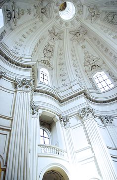 Sant'Ivo alla Sapienza (completed in 1660) by Francesco Borromini